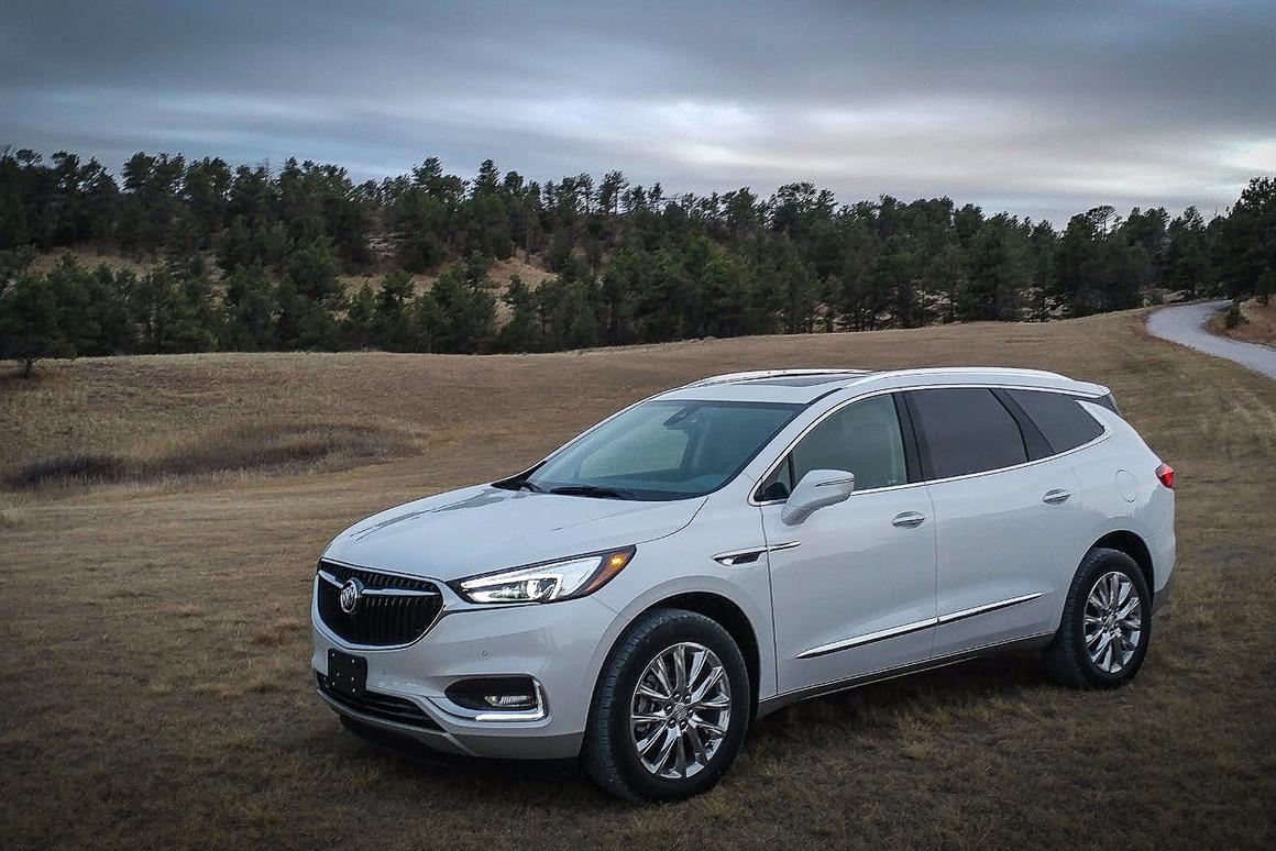 The 2018 Buick Enclave is one of the better premium-level crossovers we've driven lately