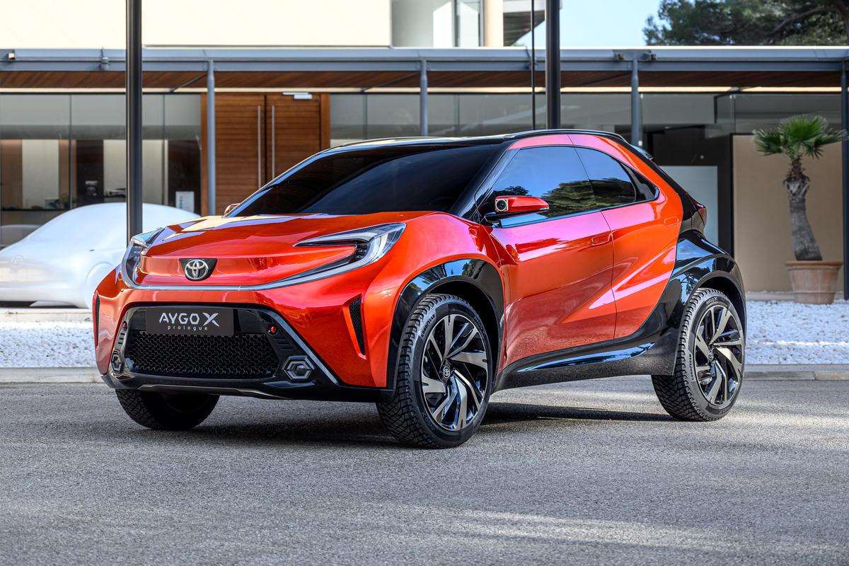 Toyota is radically sharpening up the looks of its entry-level European hatch, the Aygo