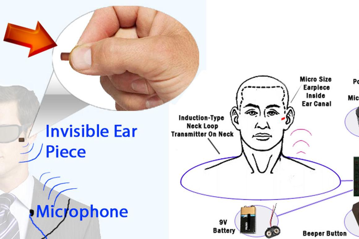 The Invisible Bluetooth Earpiece from Brickhouse Security sits inside the ear canal for covert communication