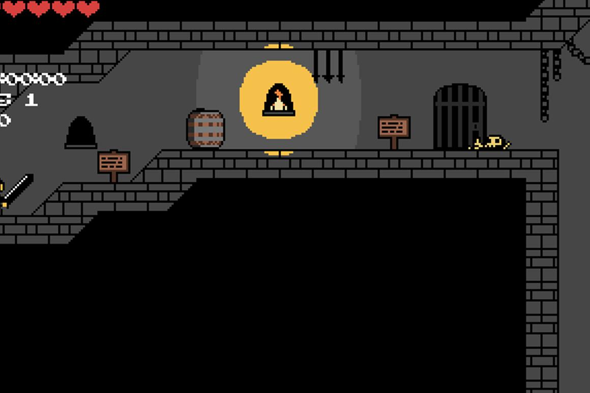iStencyl is a program which allows you to create your web and iOS games - like Dungeon Rush - without having any coding experience
