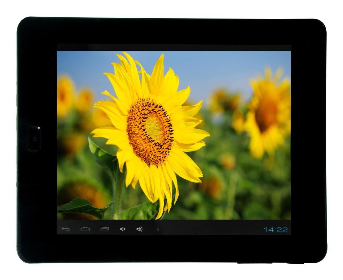 The MaxTab H8 features an 8-inch 1280 x 768 pixel resolution display