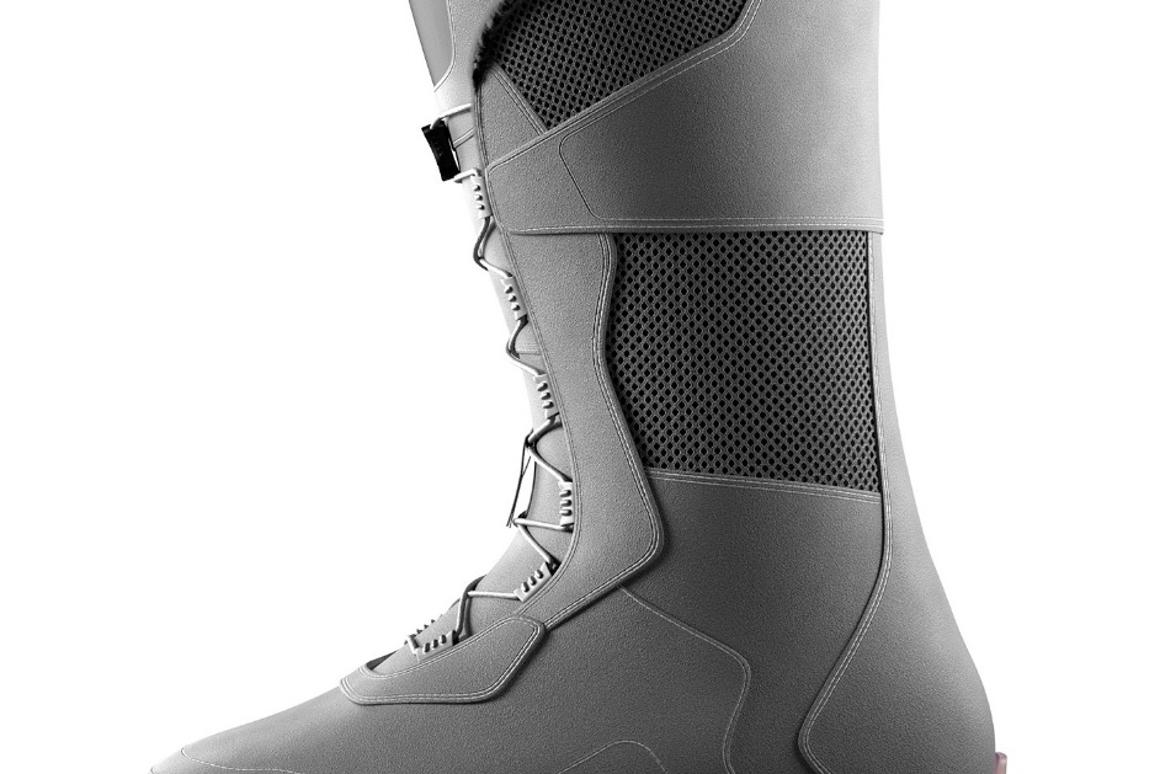 Two-part ski boots designed for easier walking