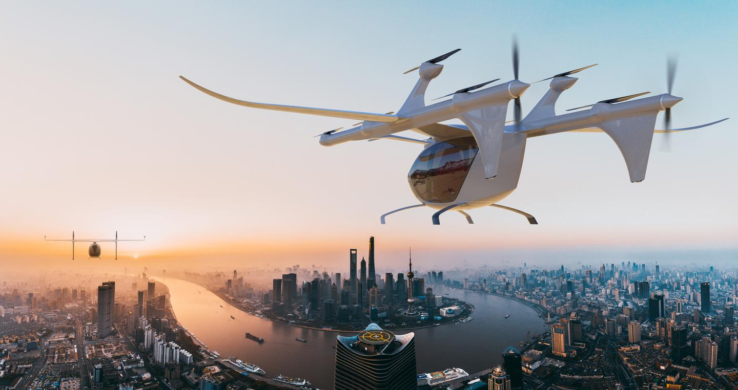Autoflight's lift-and-cruise V1500M will carry three to four passengers up to 200 km at a cruise speed around 250 km/h