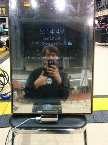 MirrorMirror features facial recognition technology (Photo: Purdue University)
