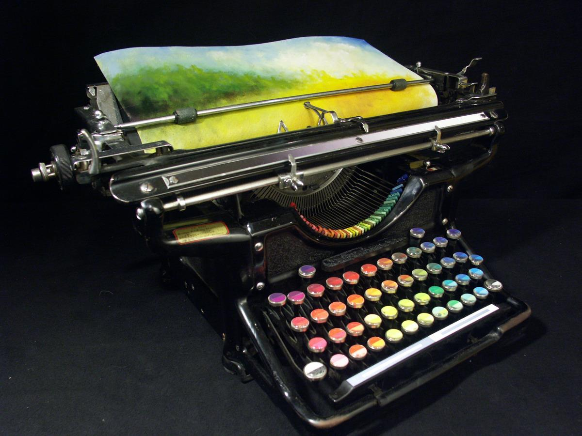 The Chromatic Typewriter was initially intended to be purely conceptual