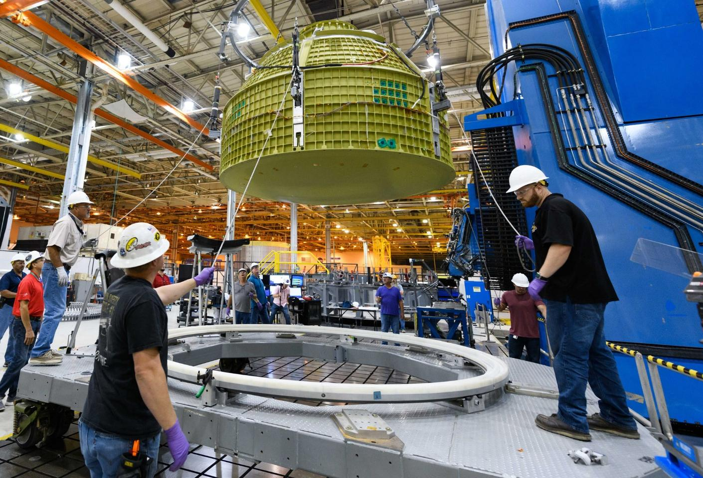 The Orion will be used by NASA for manned deep space missions