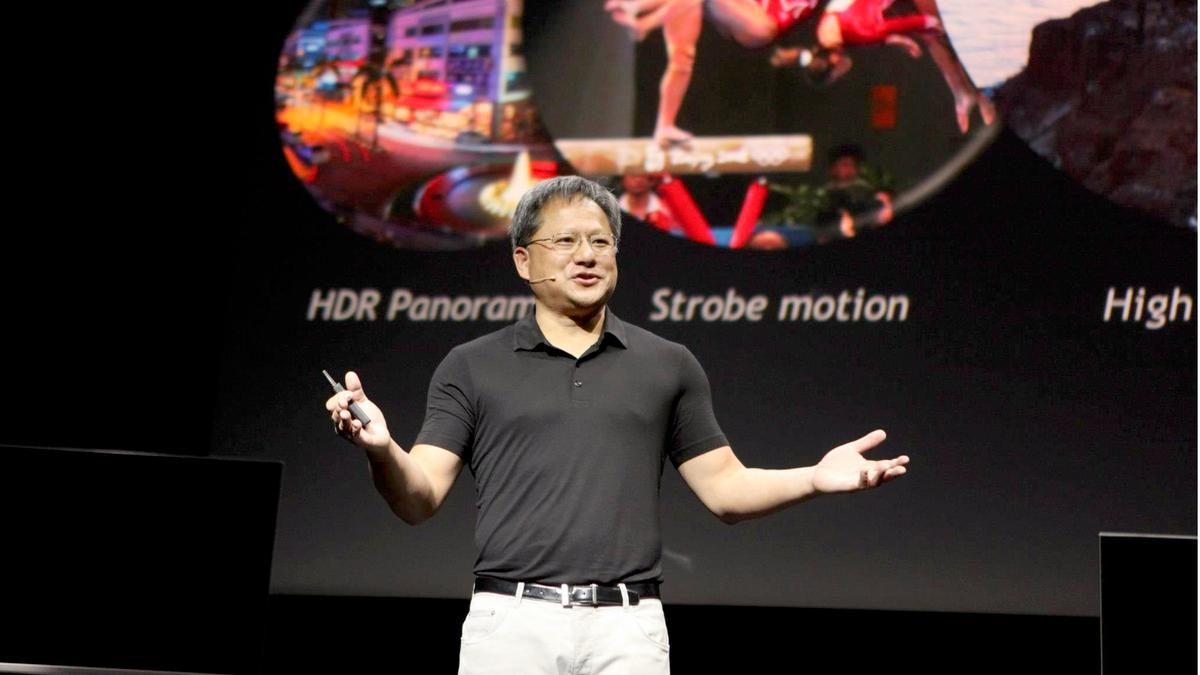 NVIDIA CEO Jen-Hsun Huang unveiled the Tegra 4 at CES 2013