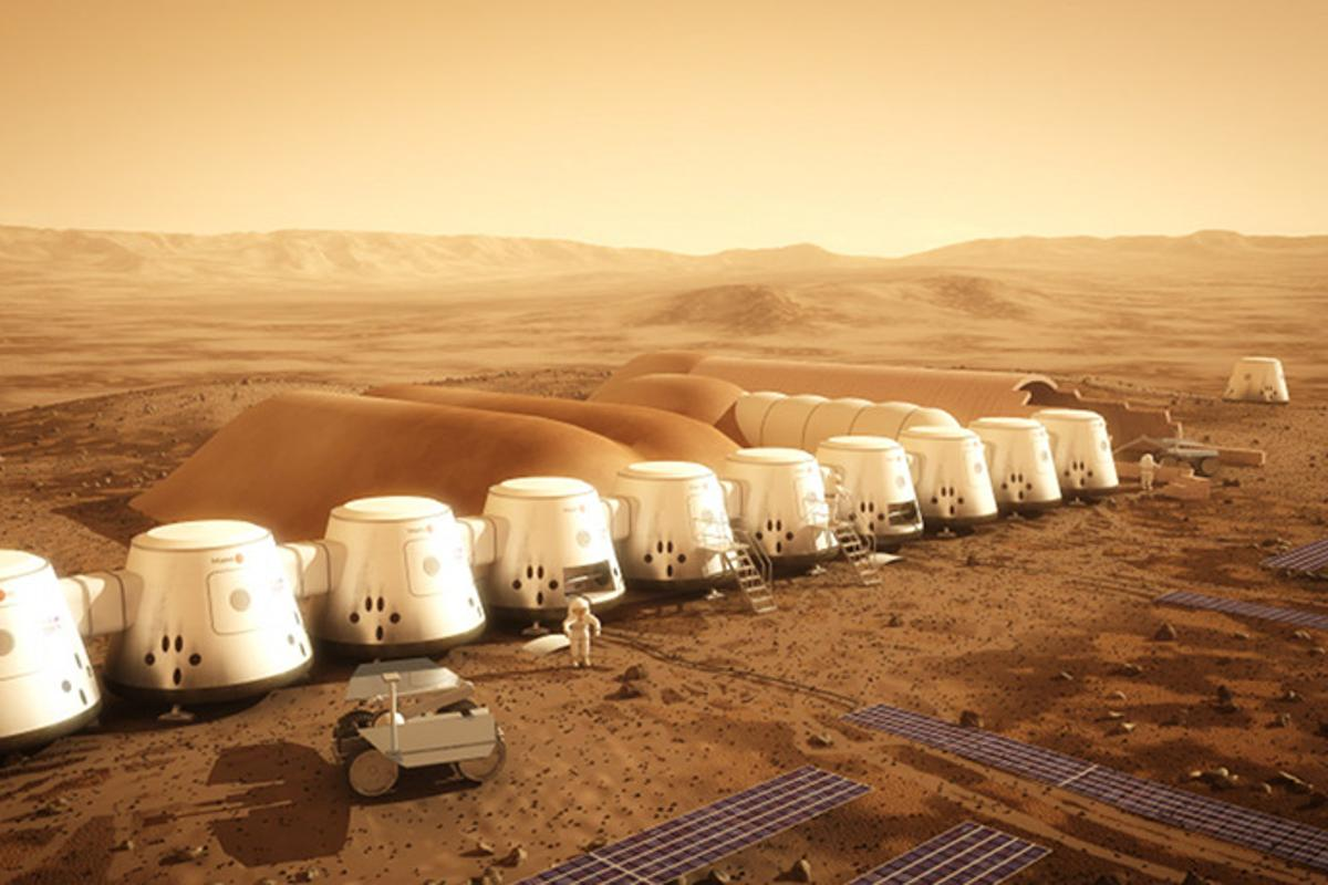 Dutch company Mars One is planning an extremely ambitious way to land mankind on Mars and keep us there: a reality TV show (Image: Mars One)
