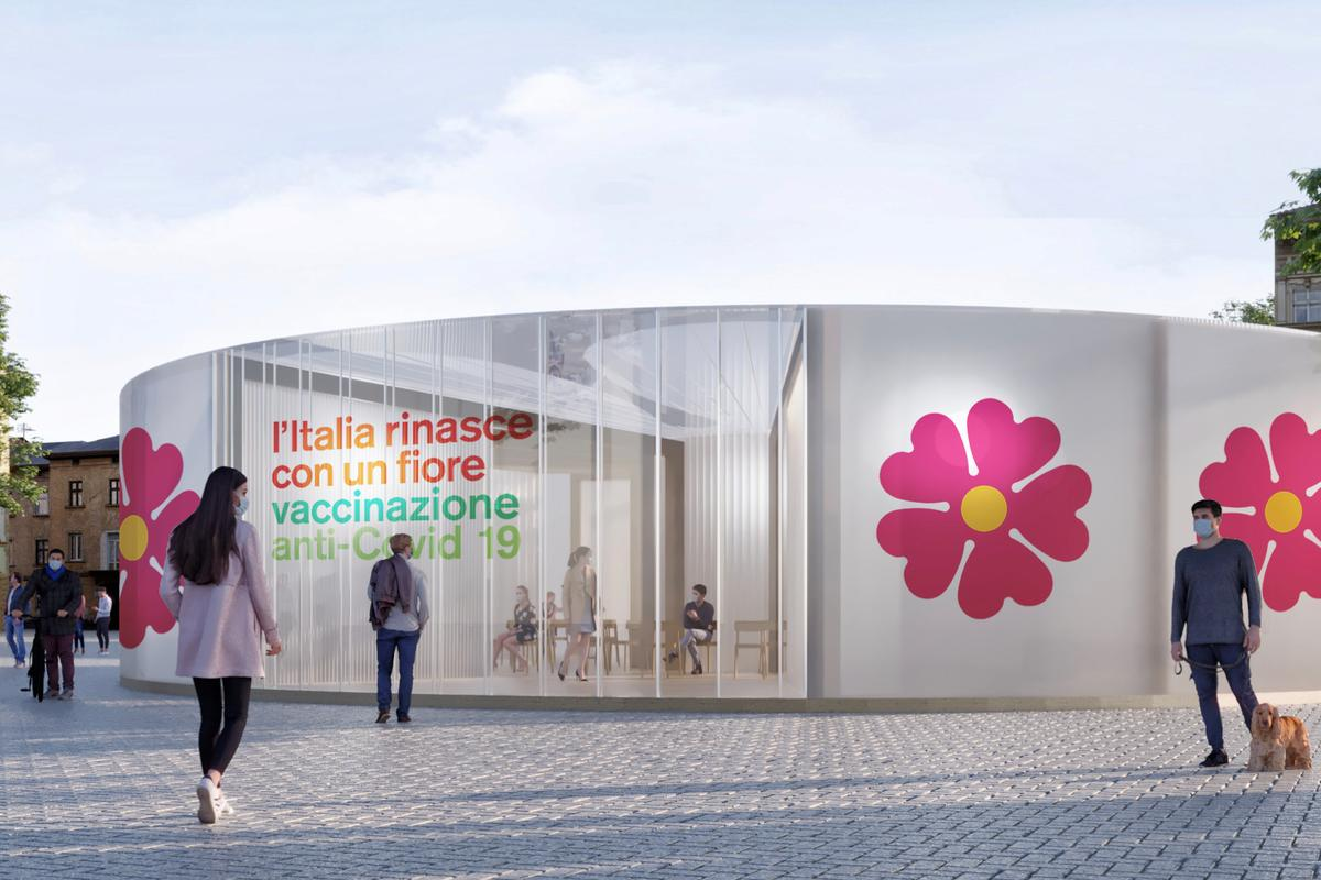 According to Stefano Boeri Architetti, the proposal has been approved and the first vaccine centers will be completed by early January, 2021