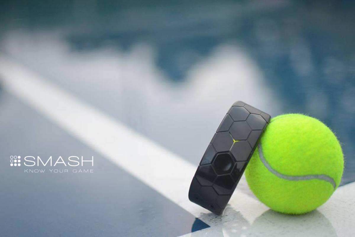 Smash is a device aimed at allowing tennis players to track and improve their performance