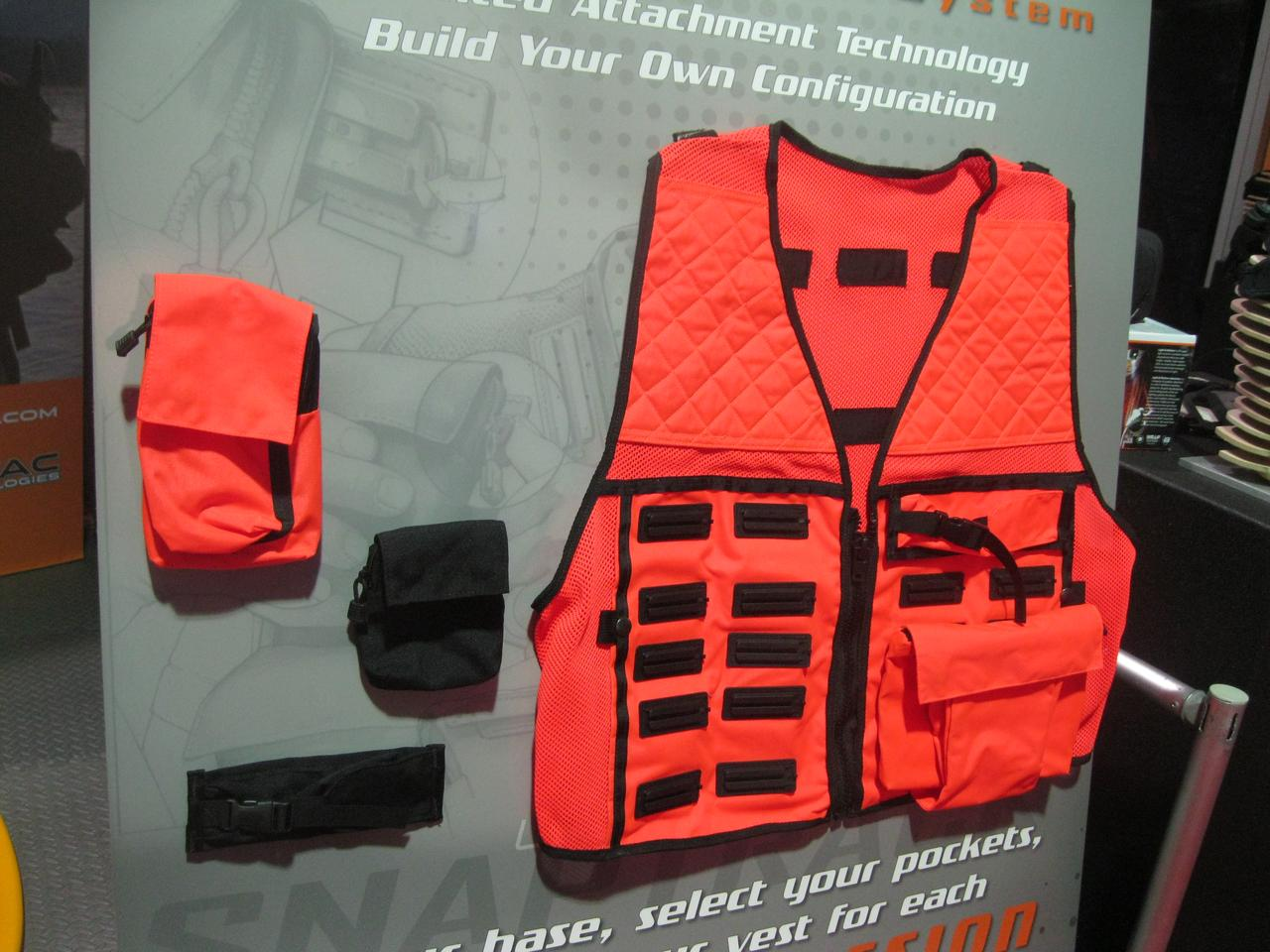 Advantac showed its latest ModMission designs at the Outdoor Retailer show in August