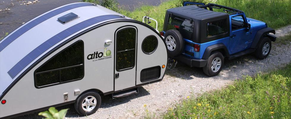 Canadian company Safari Condo has recently released the Alto R 1713 and R 1723 recreational campers