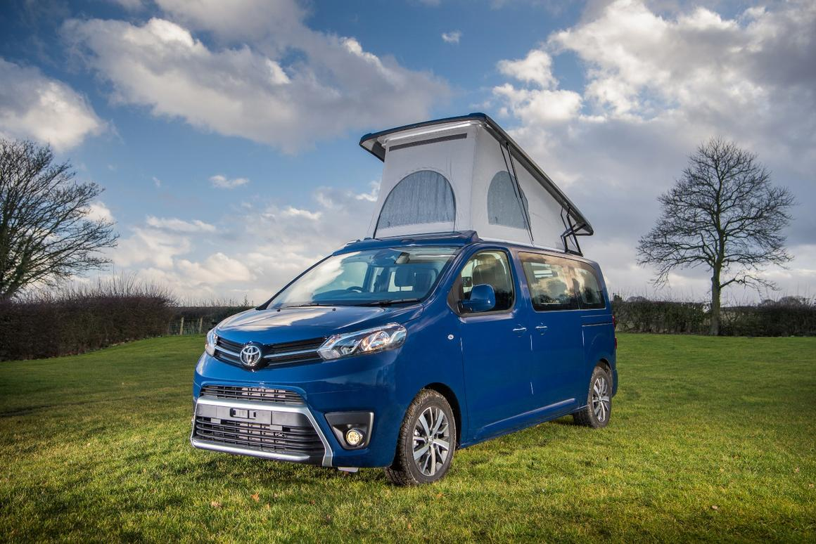 Toyota Launches A Cute Cozy Proace Camper Van