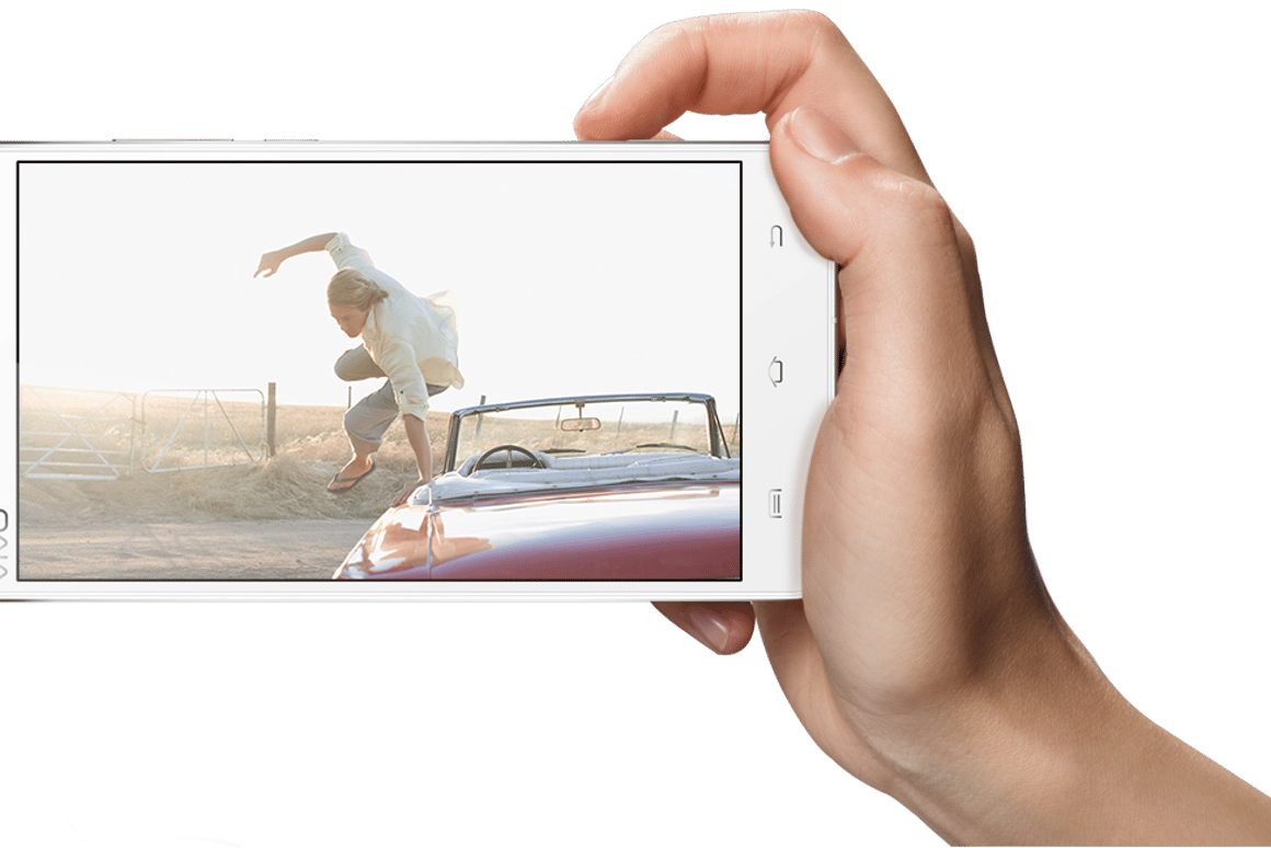 The Xshot from China's Vivo benefits from a two-stage physical camera button on the side