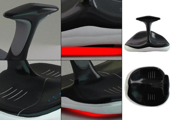 The Toe Mouse design is said to have been inspired by flip-flop beach sandals and the graceful lines of an orca