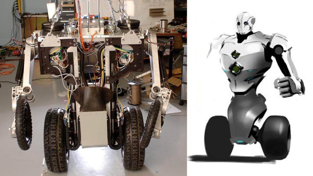 FIU researchers are developing a telepresence robot that would get disabled law enforcement officers back on patrol