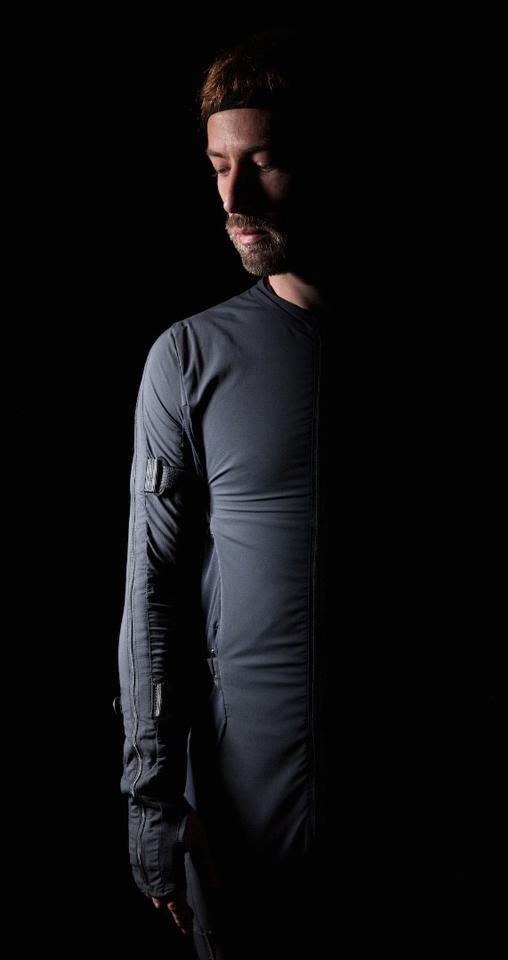 Smartsuit Pro allows for motion capturewithout the use of cameras