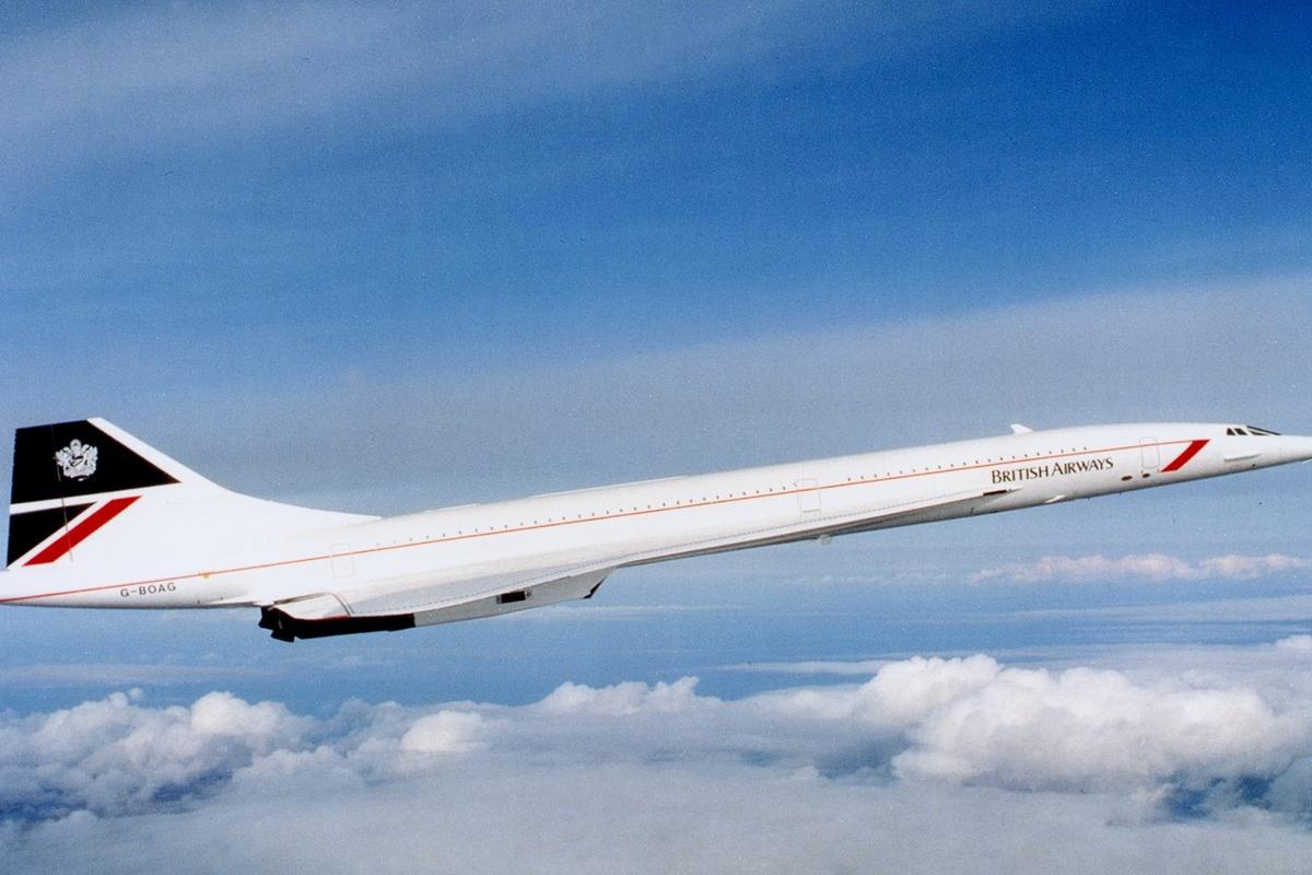 On March 2, 1969, the first Concorde took to the air from Toulouse, France. Only 20 Concordes were built, with 14 going into regular service with Air France and British Airways, including the G-BOAG (pictured)