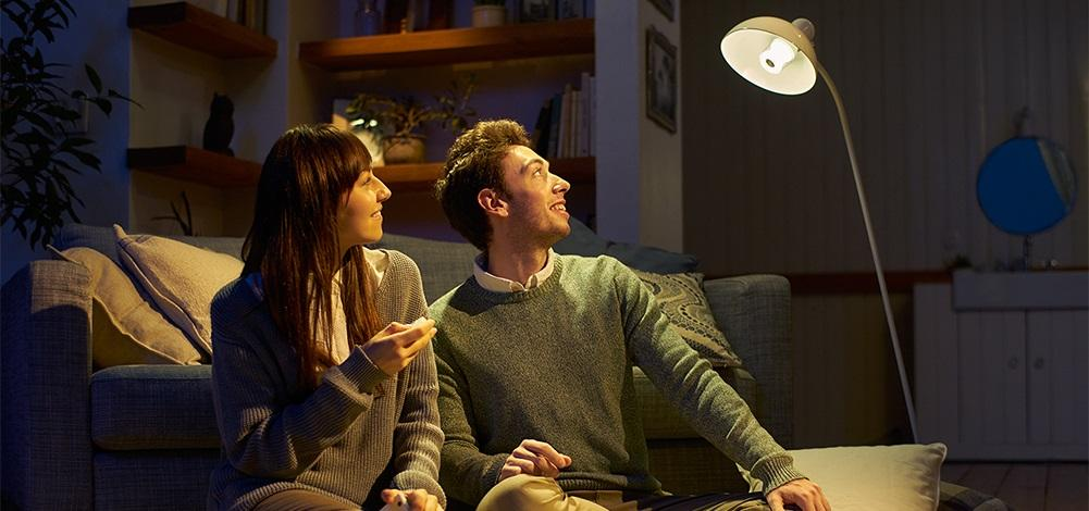 Sony's new LSPX-100E26J LED light bulb has a built-in Bluetooth speaker