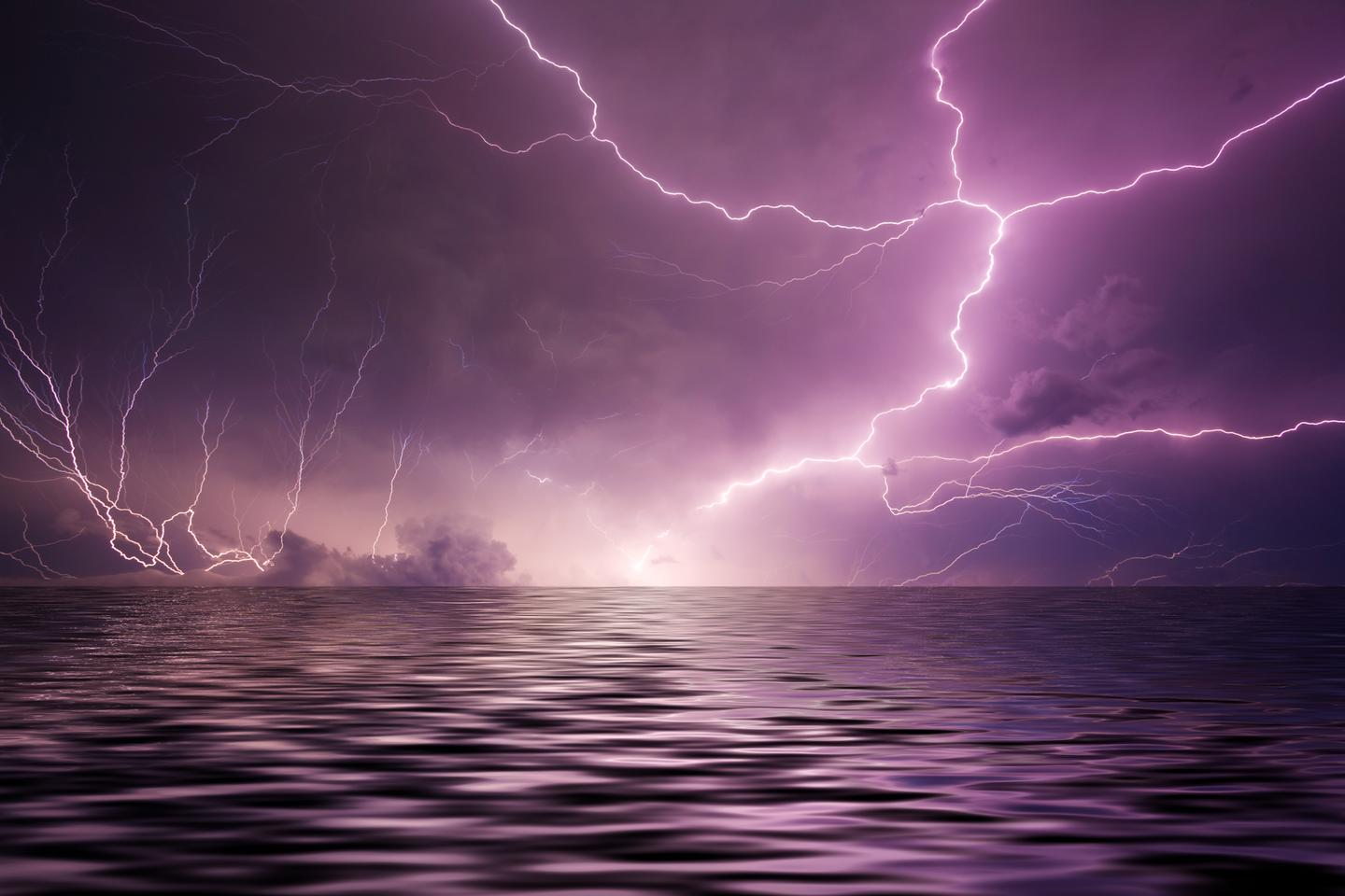 A new study suggests lightning strikes produced a vital element to kickstart life on Earth