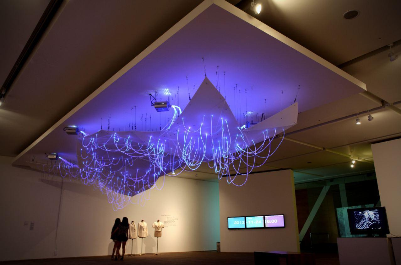 Mood Map is installed in the Museum of Art at Seoul National University (Photo: E/B Office)