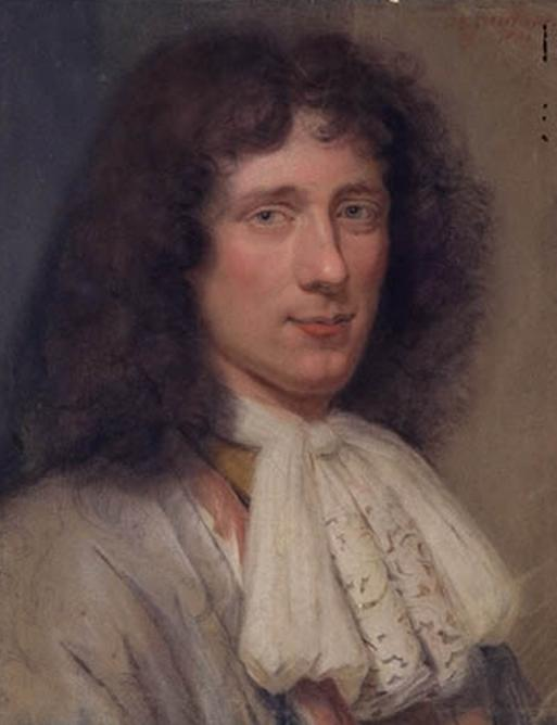 Eminent Dutch scientist Christiaan Huygens (1629-1695) discovered Titan in 1655, and was the first to deduce that Saturn was surrounded by a ring. He also invented the pendulum clock, the first accurate time-keeping device. Painting by Vaillant, courtesy