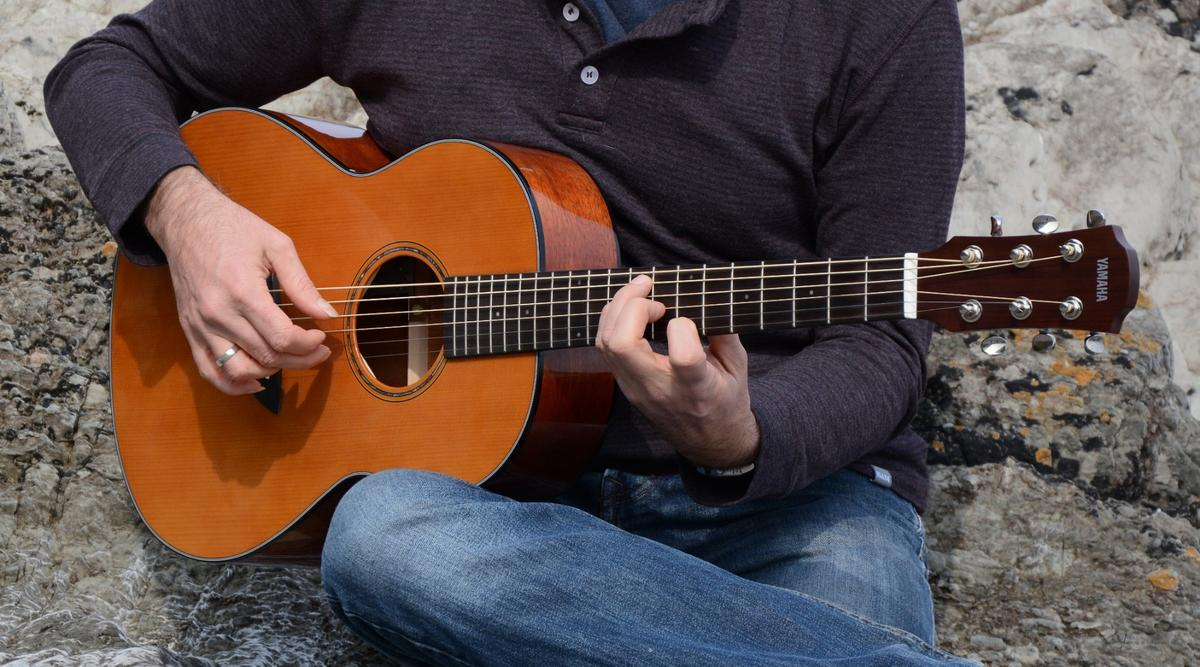 The CSF-TA parlor acoustic from Yamaha, featuring TransAcoustic technology