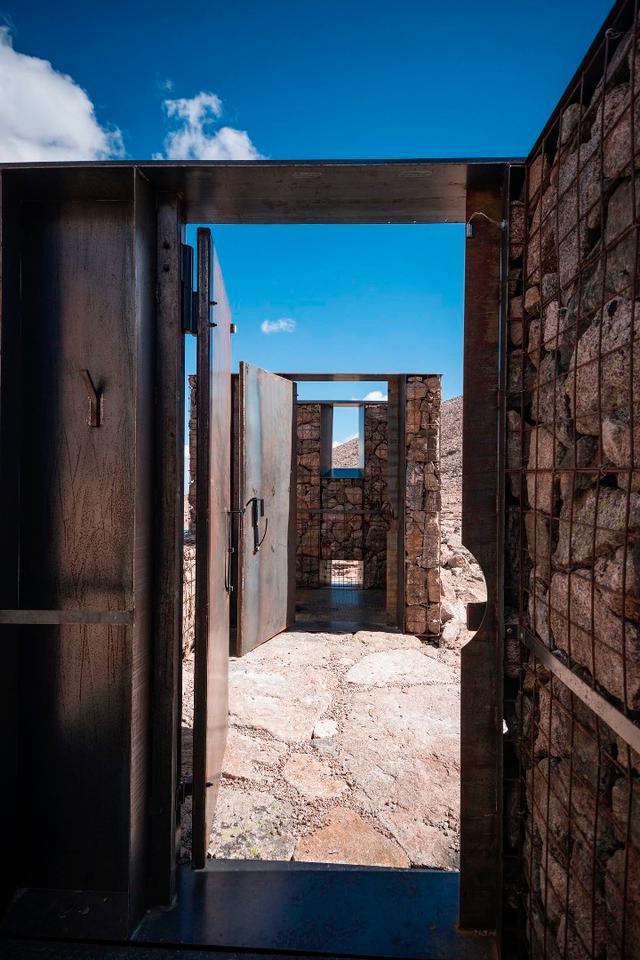 Longs Peak Toilets was designed by ColoradoBuildingWorkshop