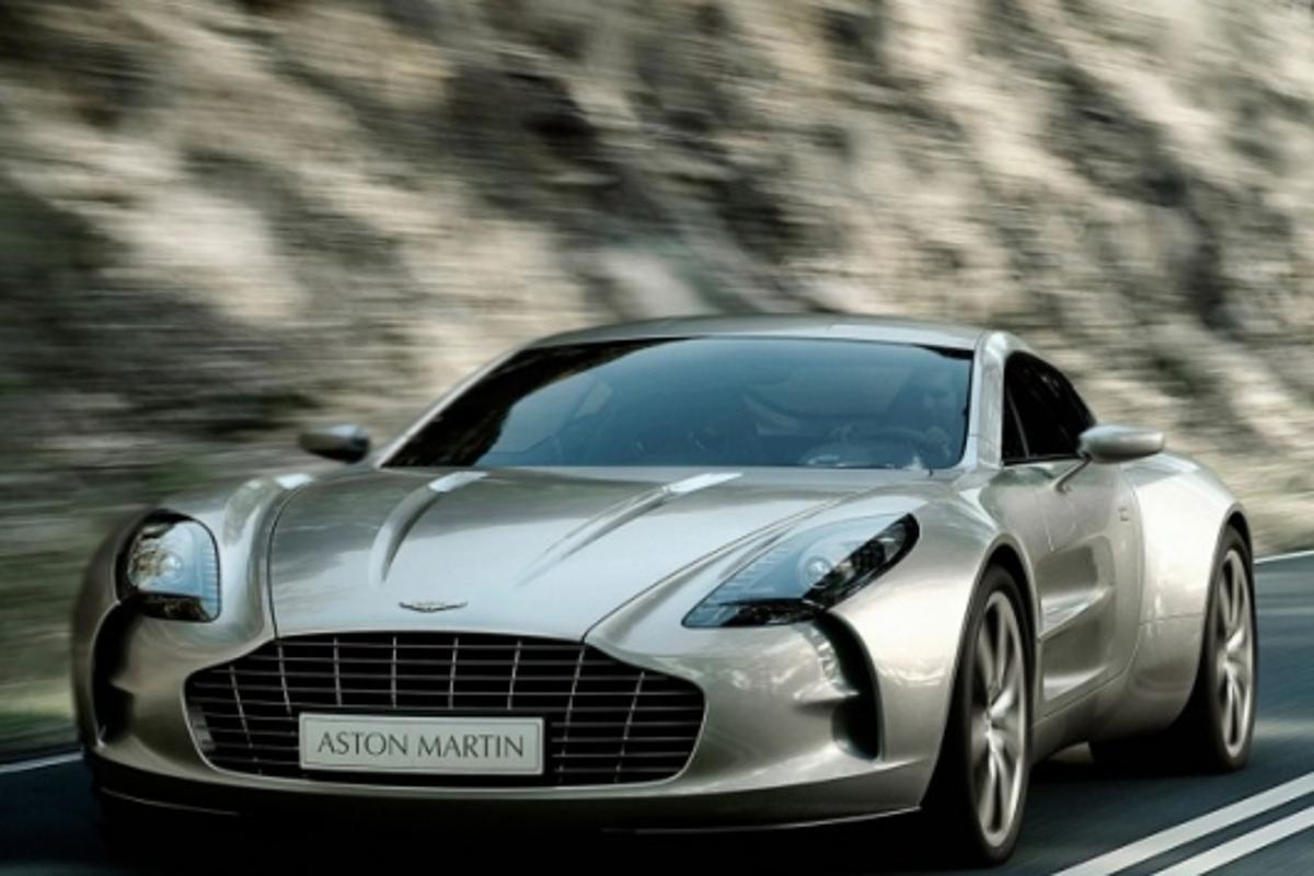 Aston Martin Reveals One 77 Technical Showcase