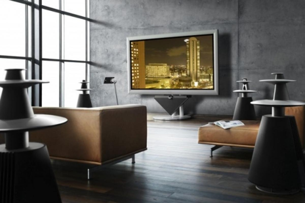 At 103 inches, Bang & Olufsen's BeoVision4-103 is one of the biggest on the market