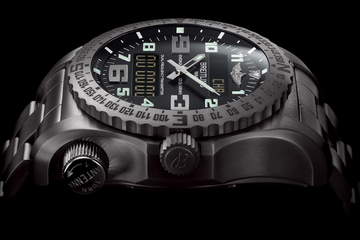 The Breitling Emergency 2 watch has a built-in rescue beacon