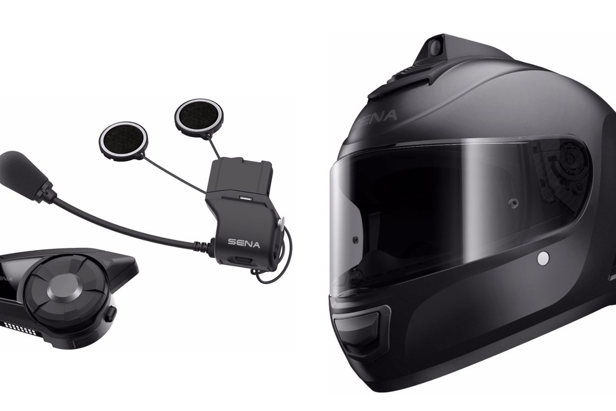 Sena has unveiled its 30K intercom system and a full range of Momentum helmets with built-in Bluetooth gear - including the game-changing INC helmet