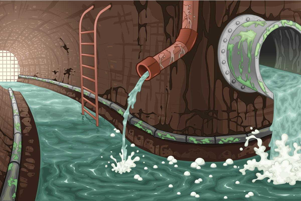 Monitoring the chemical makeup of sewage could offer useful insights on population health, possibly in real time