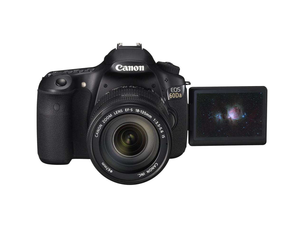 Canon has unveiled a long awaited update to 2005's EOS 20Da digital SLR camera, the new 60Da has been specially optimized for astrophotography