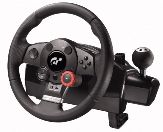Logitech Driving Force GT Wheel for Gran Turismo 5 Prologue