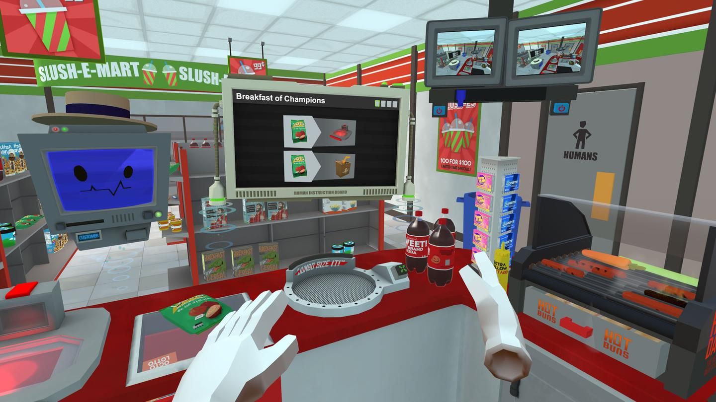 Job Simulator (convenience store level)