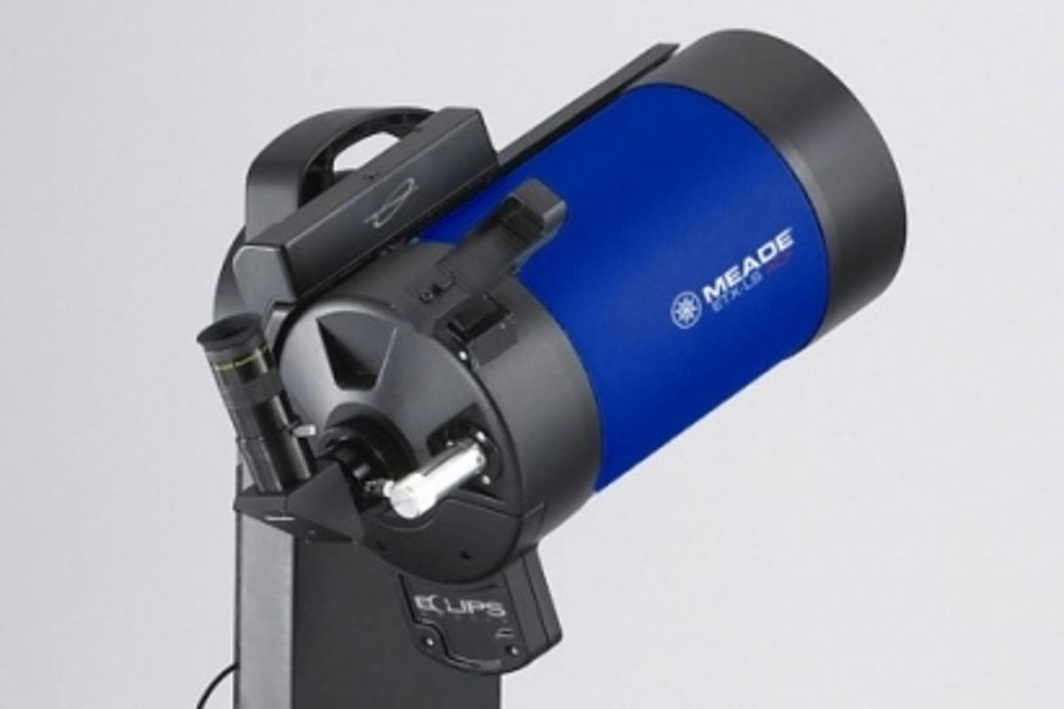 The Meade ETX-LS automatic self-aligning telescope
