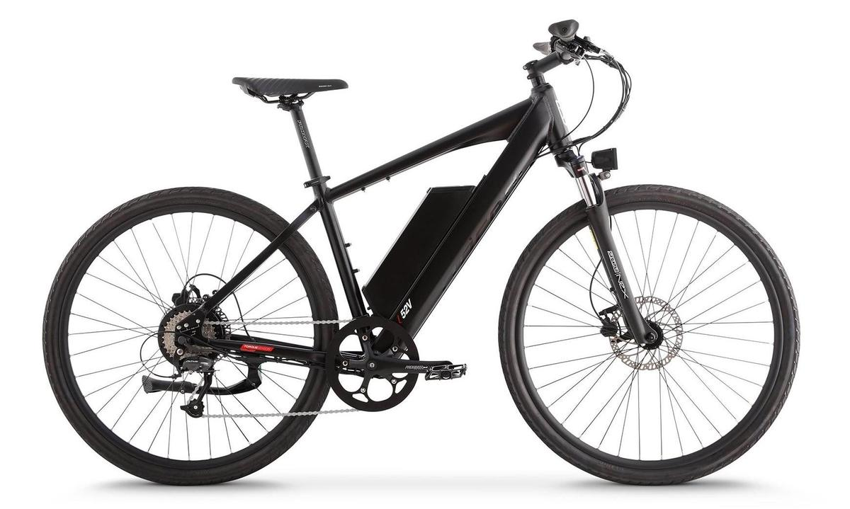 Juiced has gone to a 52-volt,13-Ahbattery pack with its new CrossCurrent S2 commuter