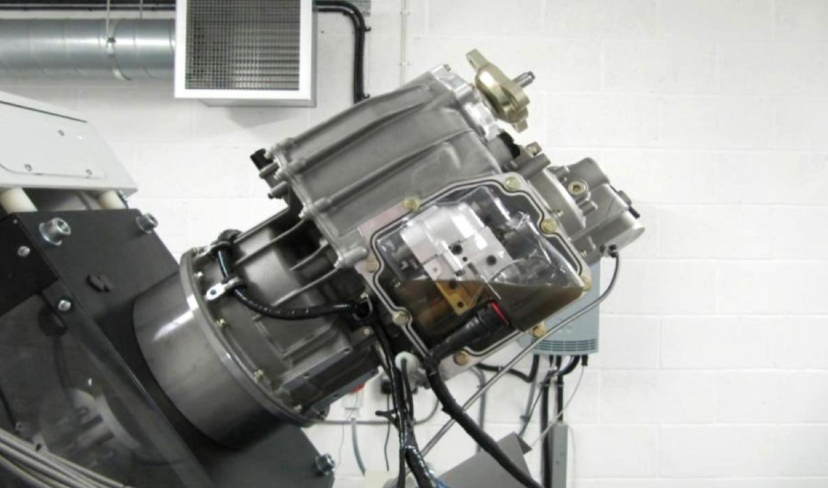 Antonov 3-speed test rig