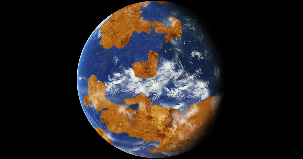 Watery ancient Venus could have been rendered uninhabitable by its own oceans