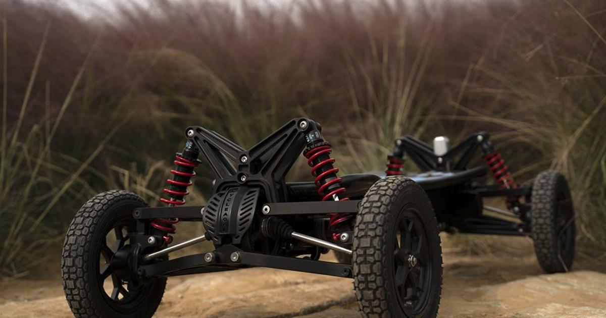 Cycleagle electric off-road skateboard is ready to hit the dirt