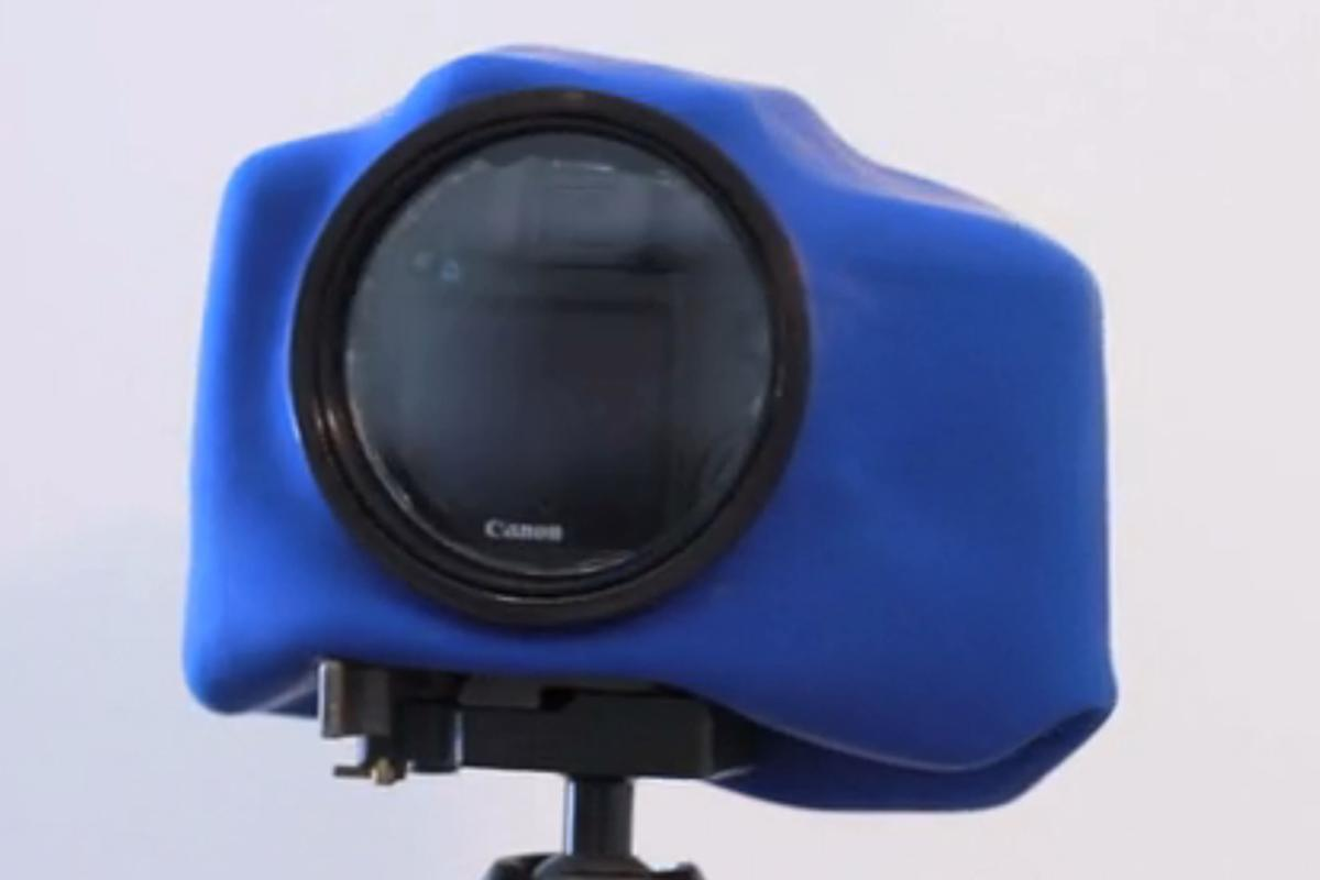 "The ""Big O"" adds a large LCD viewfinder window to the Outex weather and waterproof housing system"
