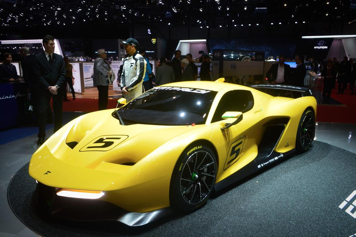 The influence of Fittipaldi is seen in the Fittipaldi EF7 Vision Gran Turismo's extreme power to weight ratio and excellent wheelbase and track proportion