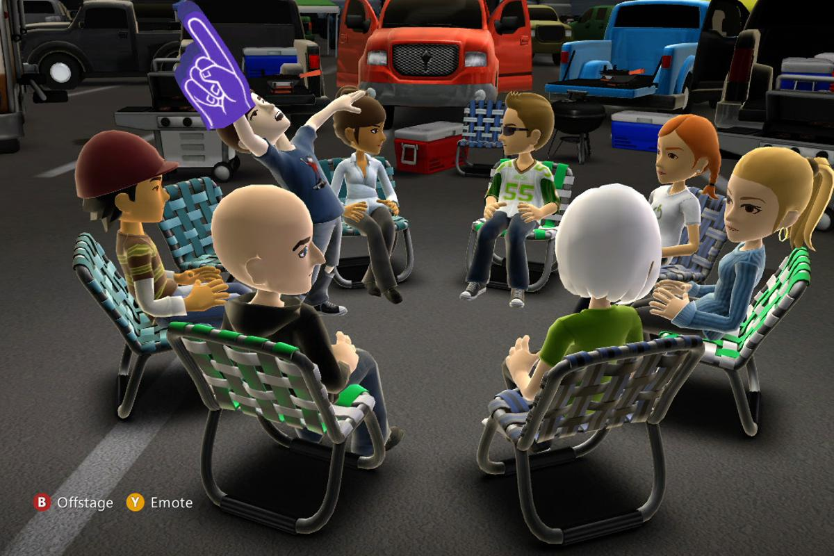 Microsoft Avatar Kinect virtual chatroom service is now available via Kinect Fun Labs