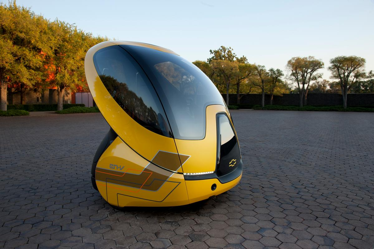 GM has started work on the next generation of its EN-V concept vehicle that will be trialled in real-world cities