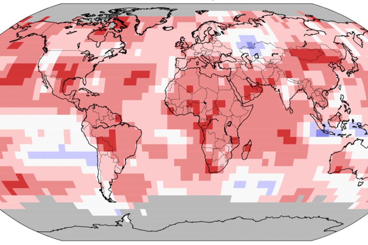 A new report from the National Oceanic and Atmospheric Administration has found that September 2019 was tied for the warmest September on the 140-year record