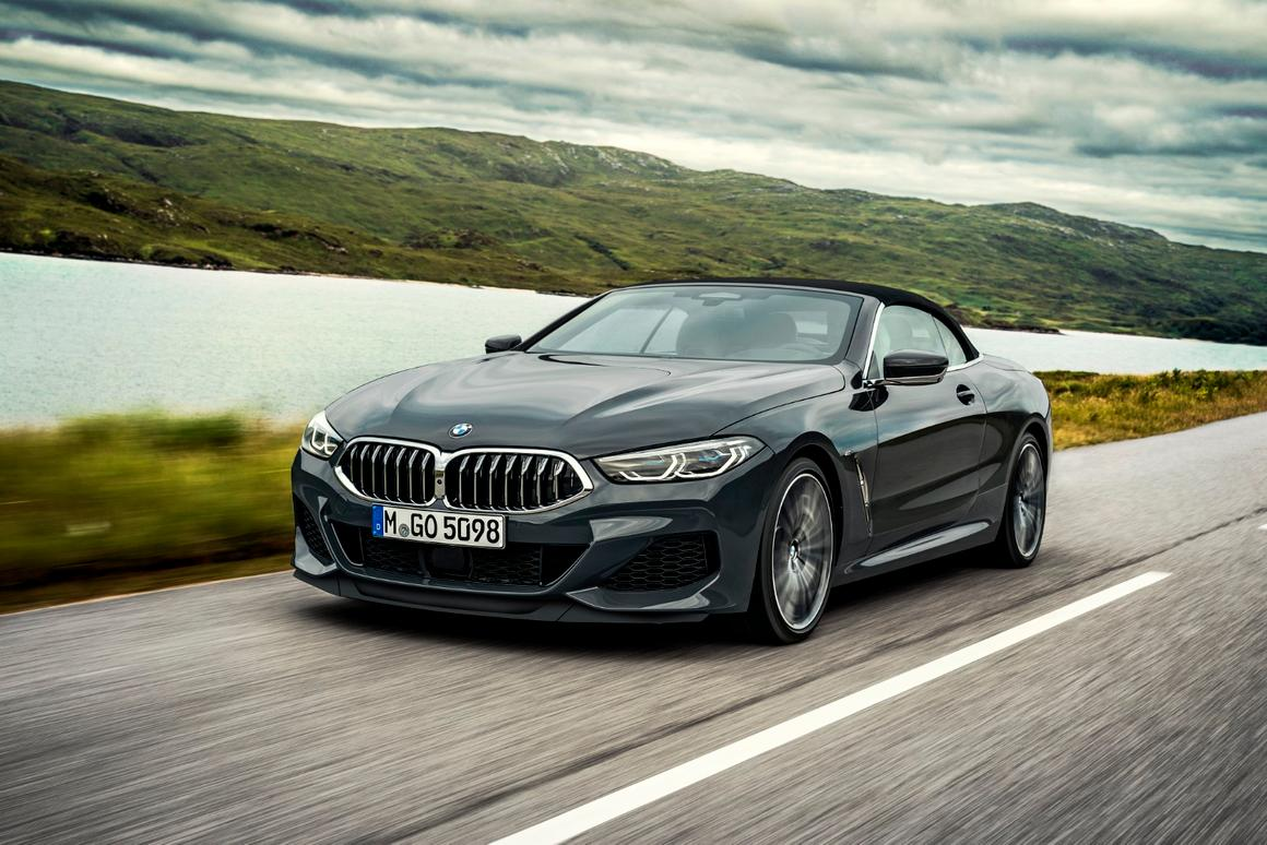 BMW gets production of the fierce 8 Series Convertible up