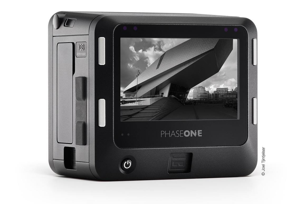 The Phase One IQ3 100MP Achromatic is a 101-megapixel digital medium-format back which only captures images in black and white
