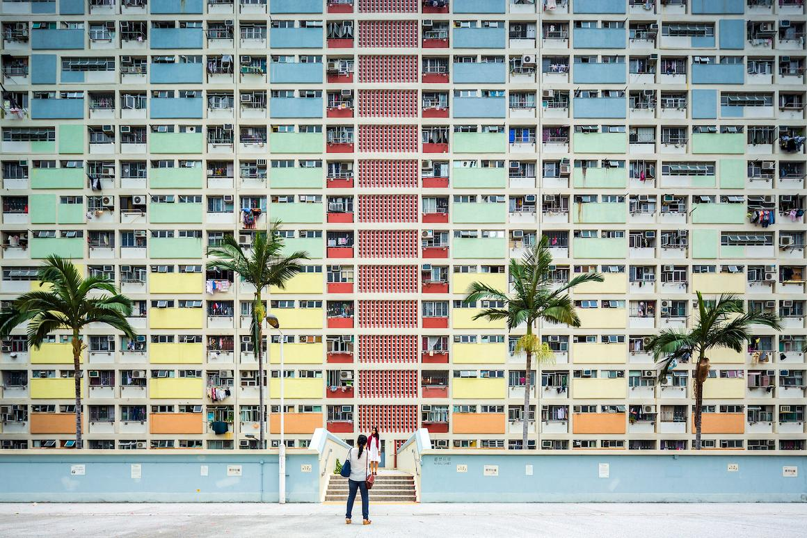 Italy's Fabio Mantovani took this colorful shot of the Choi Hung Estate in Hong Kong. The image was entered into the Sense of Place category
