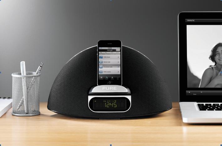 The Pure Contour 100i audio dock